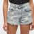 Urban Renewal Acid Wash Destroyed Shorts